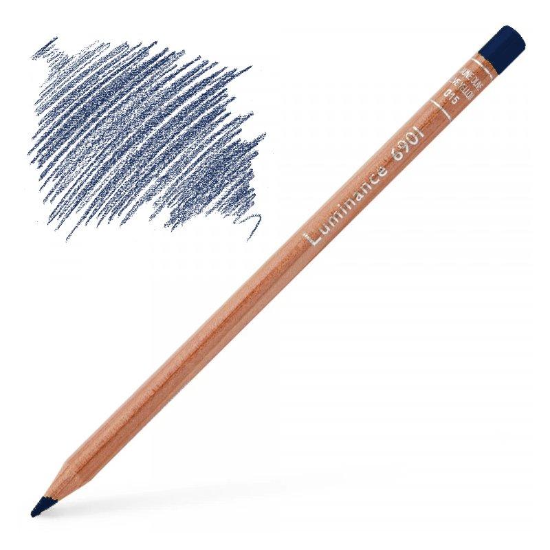 Caran d'Ache Luminance 6901 Colour Pencil - Bleu De Nimes