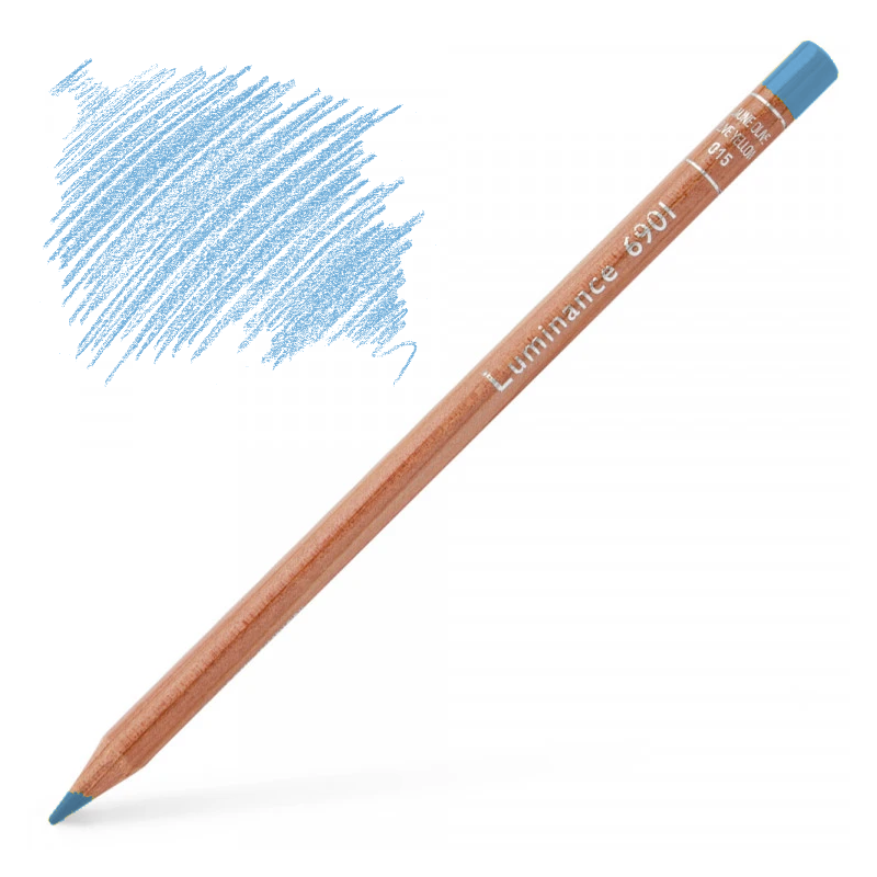 Caran d'Ache Luminance 6901 Colour Pencil - Light Blue
