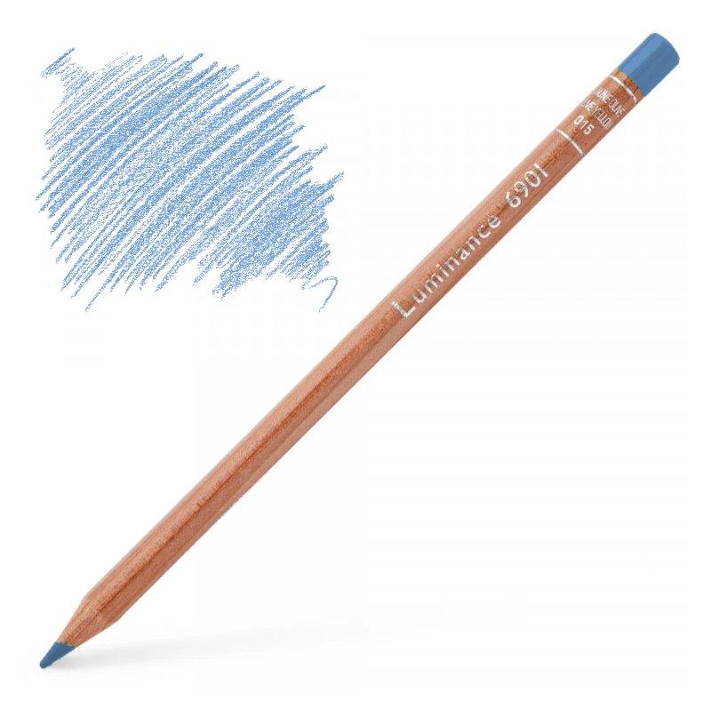 Caran d'Ache Luminance 6901 Colour Pencil - Turquoise Blue