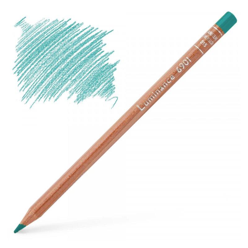 Caran d'Ache Luminance 6901 Colour Pencil - Chrysocolla Blue