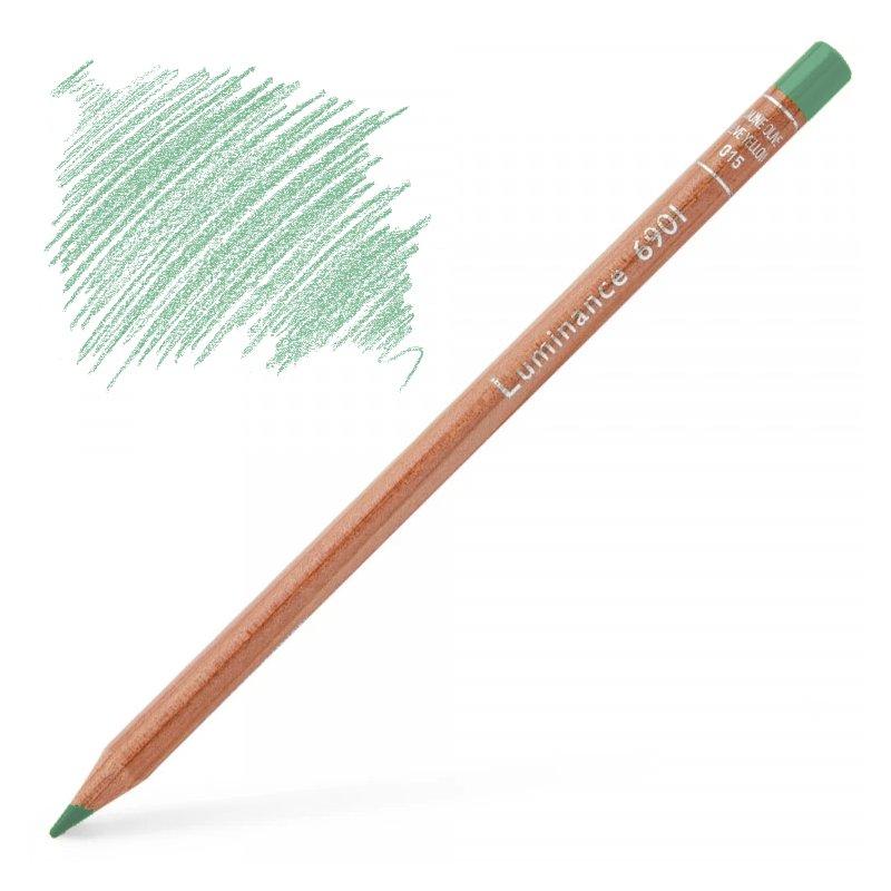Caran d'Ache Luminance 6901 Colour Pencil - Light Malachite Green