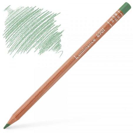 Caran d'Ache Luminance 6901 Colour Pencil - Middle Verdigris