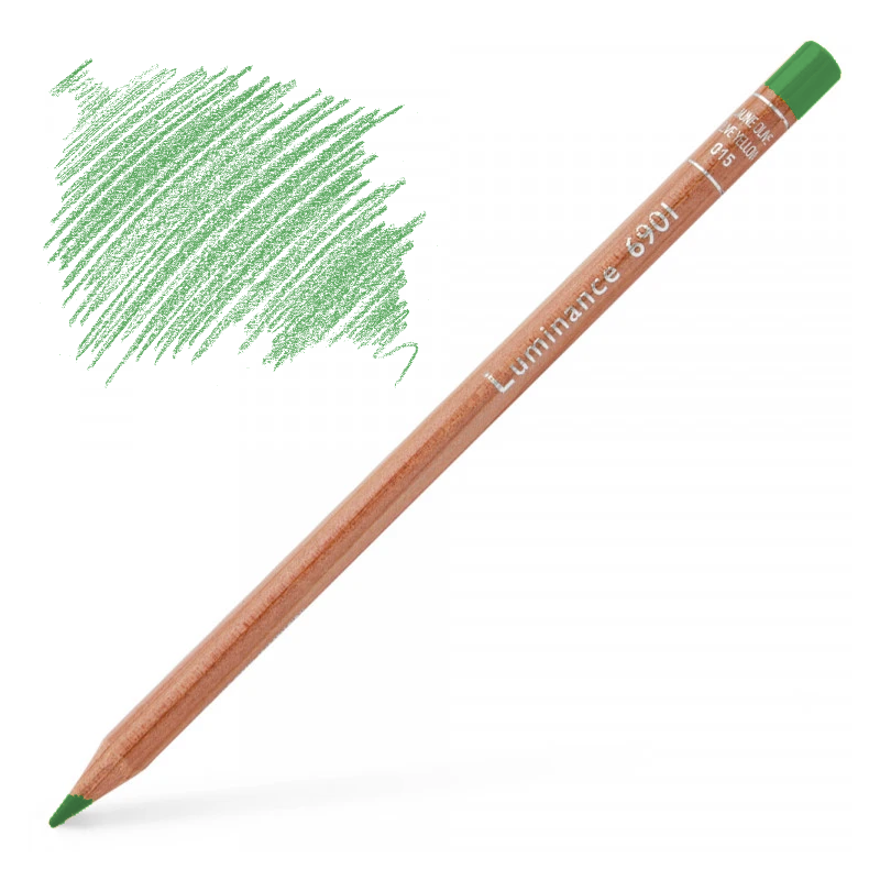 Caran d'Ache Luminance 6901 Colour Pencil - Cobalt Green