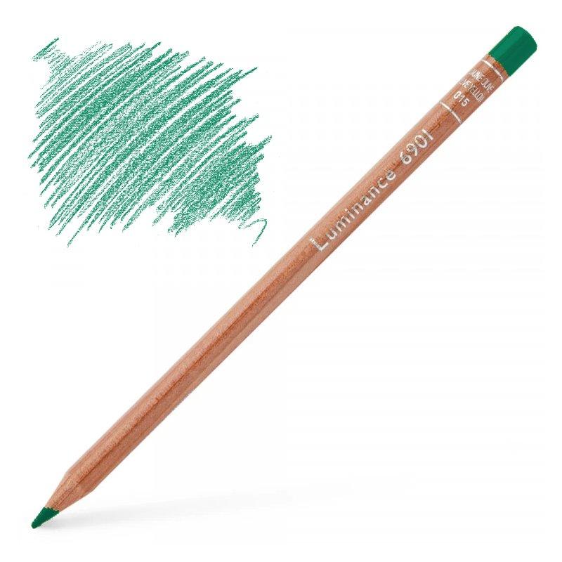 Caran d'Ache Luminance 6901 Colour Pencil - Dark English Green