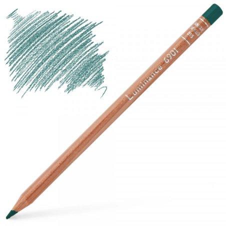 Caran d'Ache Luminance 6901 Colour Pencil - Malachite Green
