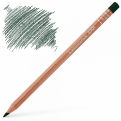 Caran d'Ache Luminance 6901 Colour Pencil - Dark Phthalocyanine Green