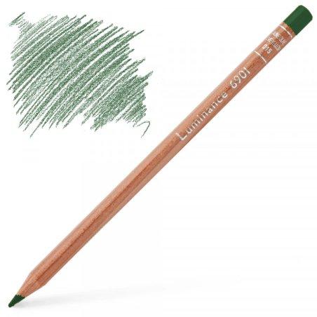 Caran d'Ache Luminance 6901 Colour Pencil - Chromium Oxyde Green