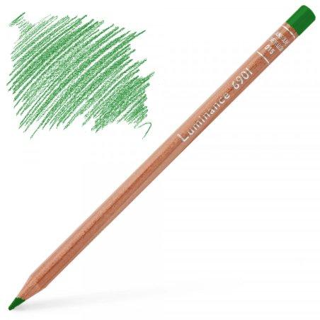 Caran d'Ache Luminance 6901 Colour Pencil - Grass Green