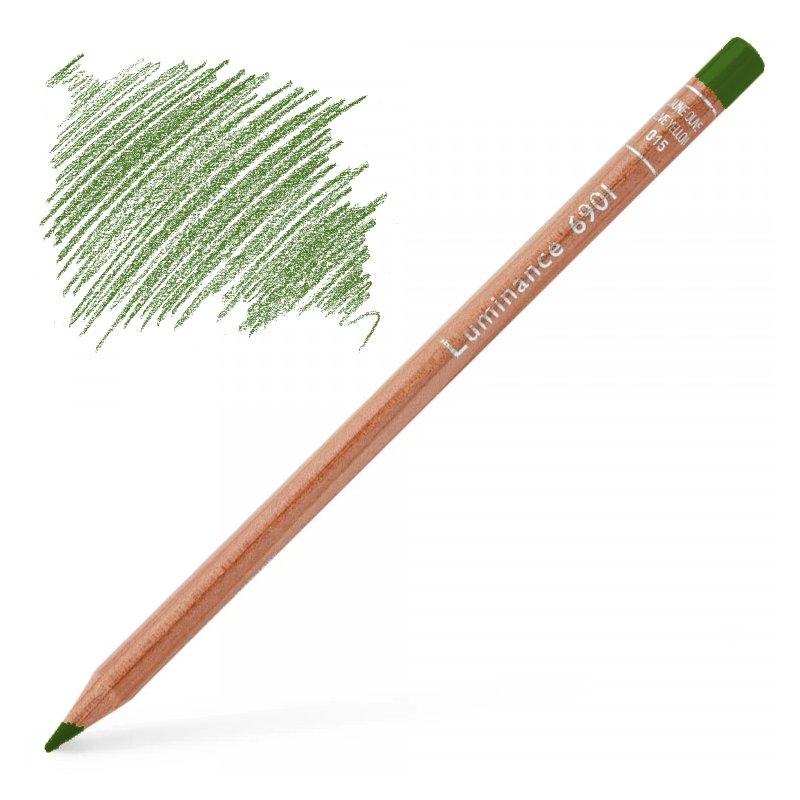Caran d'Ache Luminance 6901 Colour Pencil - Moss Green