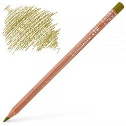 Caran d'Ache Luminance 6901 Colour Pencil - Green Ochre
