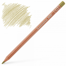 Caran d'Ache Luminance 6901 Colour Pencil - Olive Brown 10%