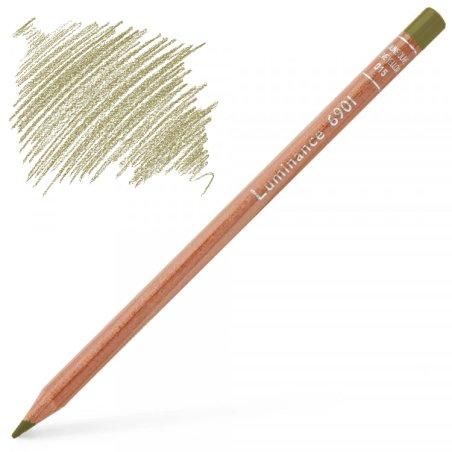 Caran d'Ache Luminance 6901 Colour Pencil - Olive Brown 50%