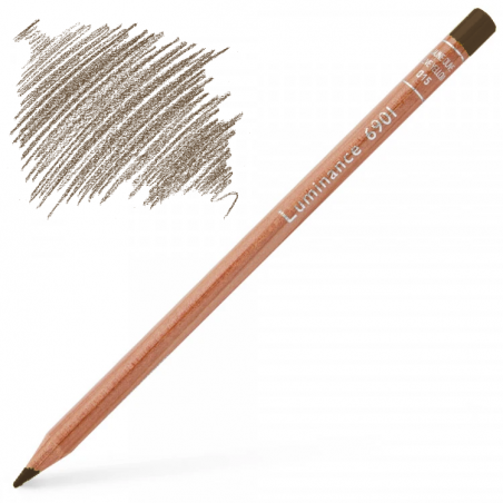 Caran d'Ache Luminance 6901 Colour Pencil - Raw Umber