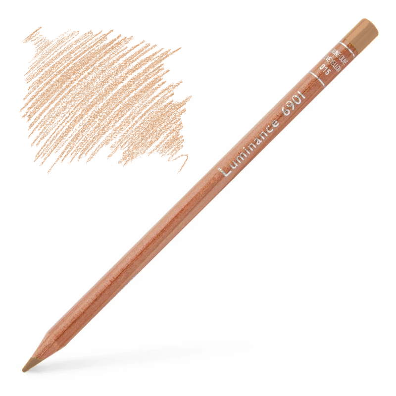 Caran d'Ache Luminance 6901 Colour Pencil - Burnt Ochre 10%