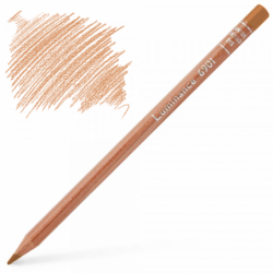 Caran d'Ache Luminance 6901 Colour Pencil - Burnt Ochre 50%