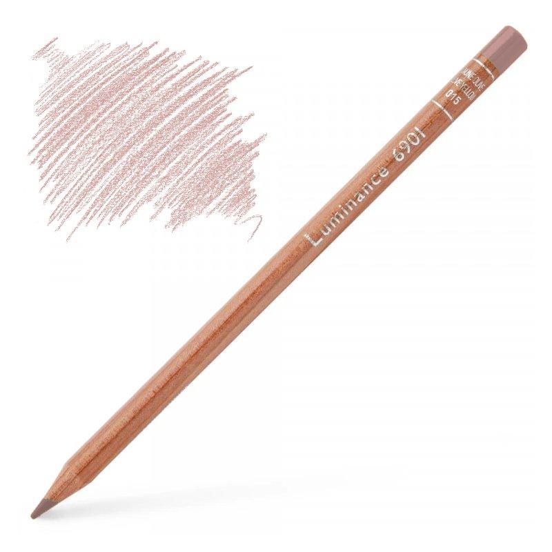 Caran d'Ache Luminance 6901 Colour Pencil - Burnt Sienna 10%