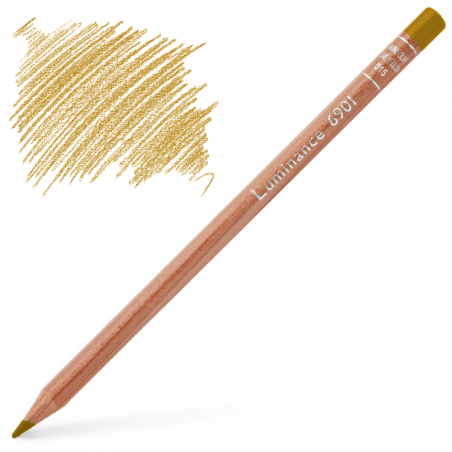 Caran d'Ache Luminance 6901 Colour Pencil - Raw Sienna
