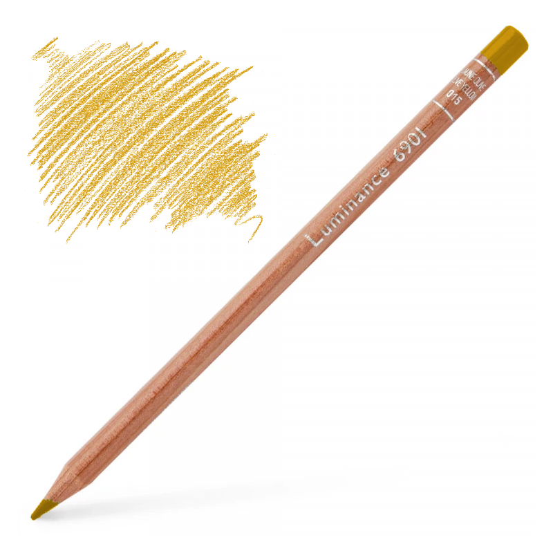 Caran d'Ache Luminance 6901 Colour Pencil - Yellow Ochre