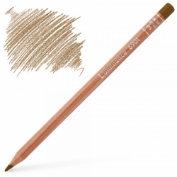 Caran d'Ache Luminance 6901 Colour Pencil - Brown Ochre