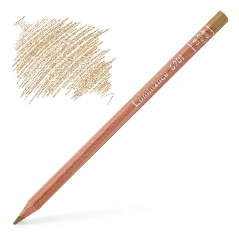 Caran d'Ache Luminance 6901 Colour Pencil - Brown Ochre 50%
