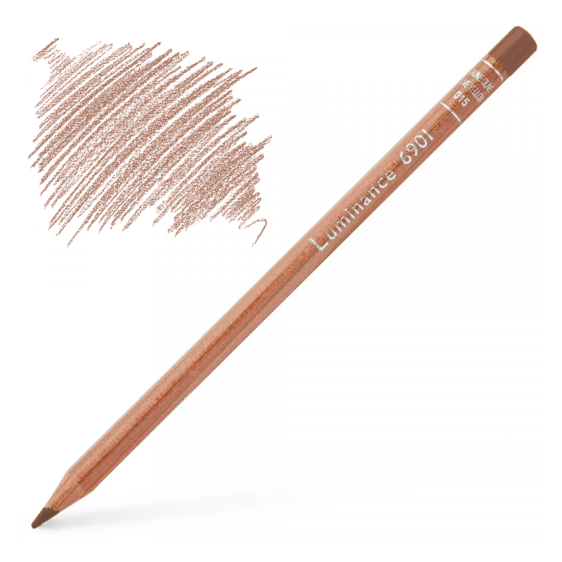 Caran d'Ache Luminance 6901 Colour Pencil - Dark Flesh 5%