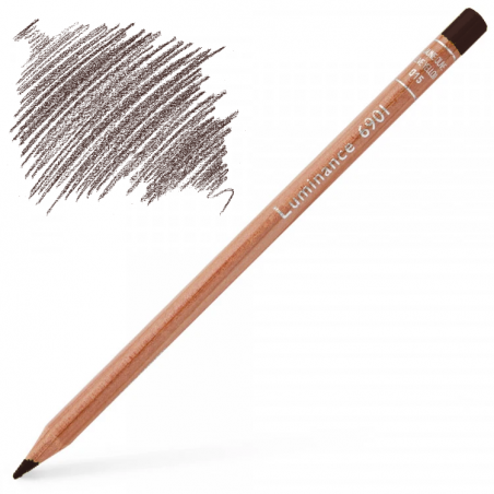 Caran d'Ache Luminance 6901 Colour Pencil - Dark Flesh