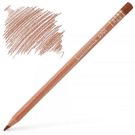Caran d'Ache Luminance 6901 Colour Pencil - Terracotta