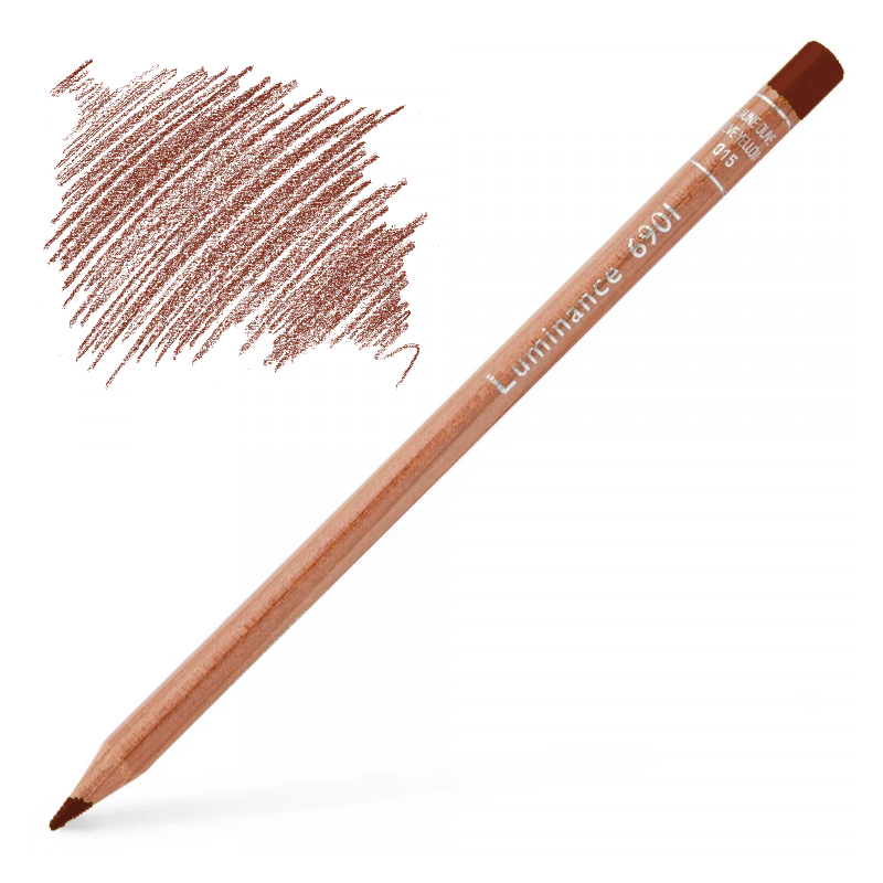 Caran d'Ache Luminance 6901 Colour Pencil - Natural Russet