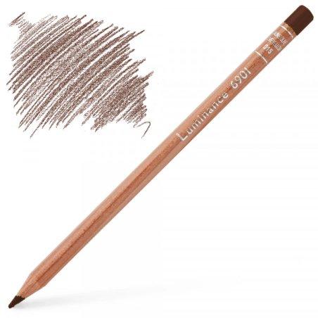 Caran d'Ache Luminance 6901 Colour Pencil - Burnt Sienna
