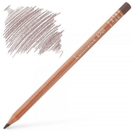 Caran d'Ache Luminance 6901 Colour Pencil - Sepia 50%