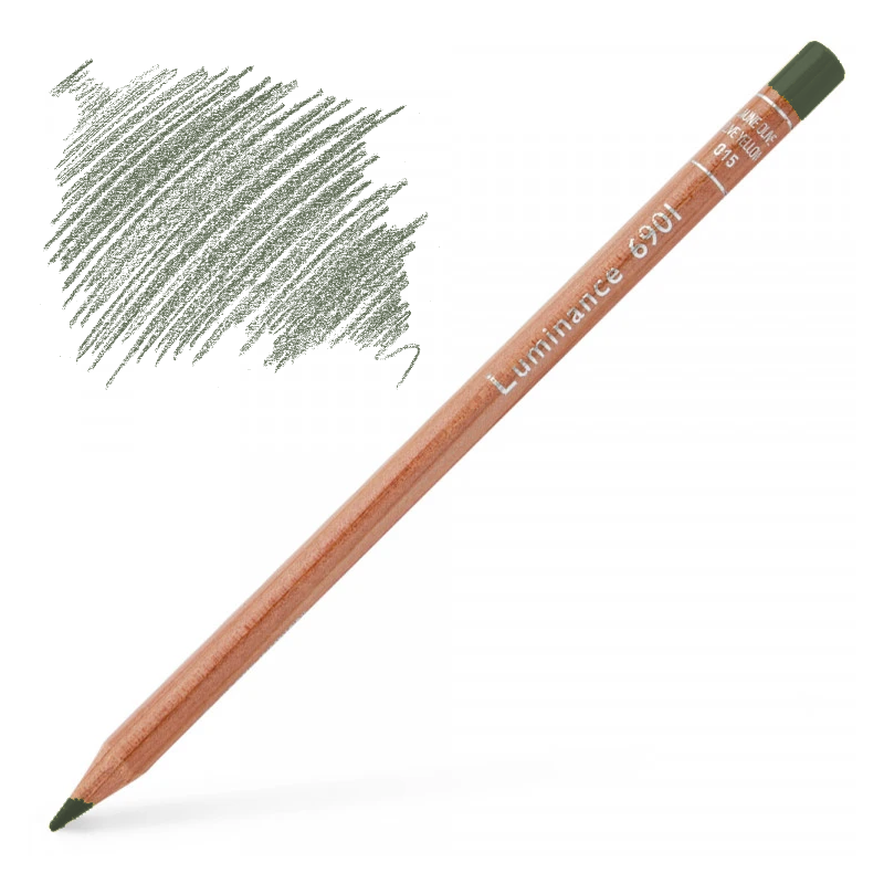 Caran d'Ache Luminance 6901 Colour Pencil - French Grey