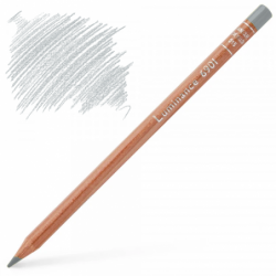 Caran d'Ache Luminance 6901 Colour Pencil - Silver Grey