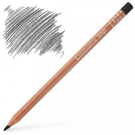 Caran d'Ache Luminance 6901 Colour Pencil - Slate Grey
