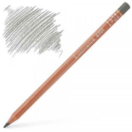 Caran d'Ache Luminance 6901 Colour Pencil - Payne's Grey 30%