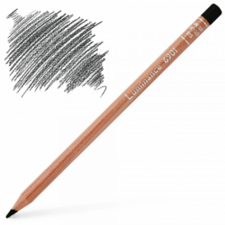 Caran d'Ache Luminance 6901 Colour Pencil - Black