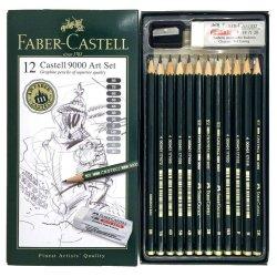 Faber Castell 9000 Art 12 Set