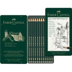 Faber Castell 9000 Design 12 Set
