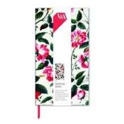 Floral Prints V&A Slim Address Book