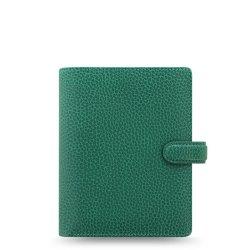 Filofax Finsbury Pocket Organiser - Forrest Green