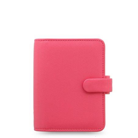 Filofax Saffiano Pocket Organiser - Peony