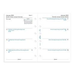 Filofax Saffiano Pocket Organiser