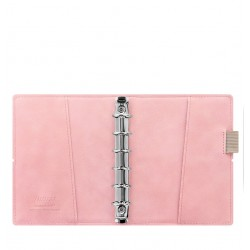 Filofax Domino Soft Personal Organiser - Pale Pink