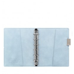 Filofax Domino Soft Pocket Organiser - Pale Blue