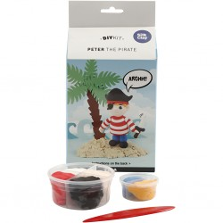 Silk Clay® Funny Friends, Peter The Pirate