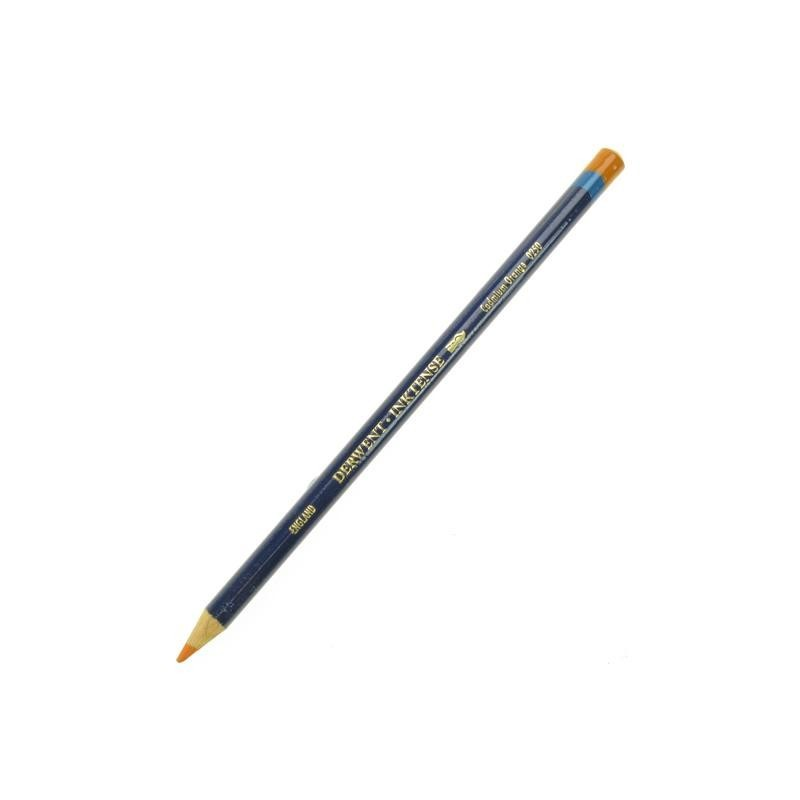 Derwent Inktense Cadmium Orange Watercolour Pencil