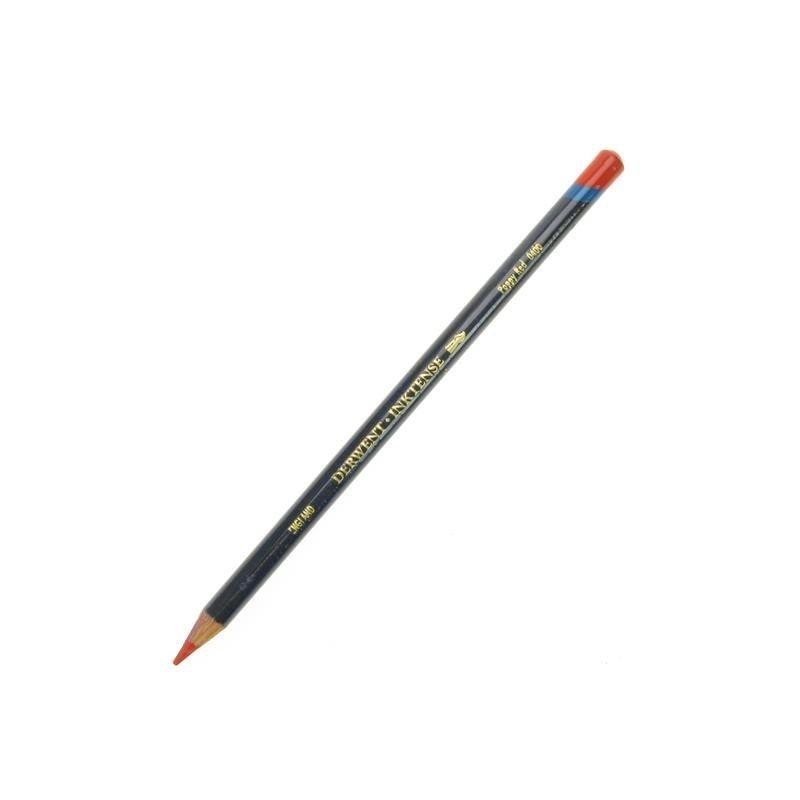 Derwent Inktense Poppy Red Watercolour Pencil