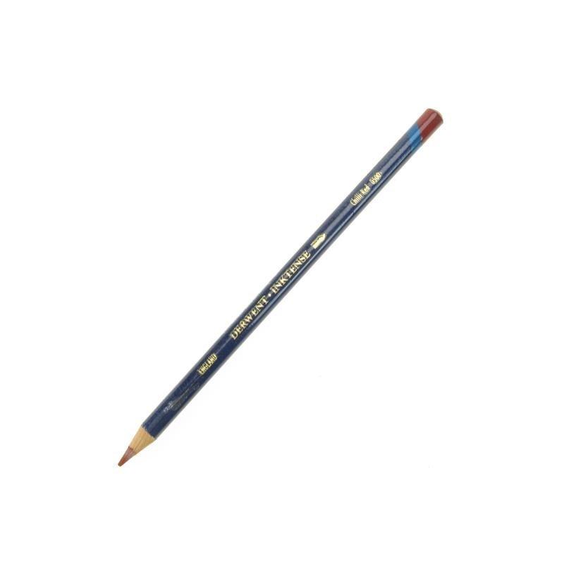 Derwent Inktense Chilli Red Watercolour Pencil