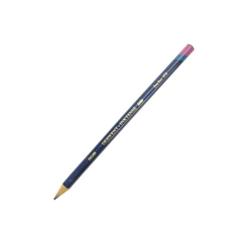Derwent Inktense Deep Rose Watercolour Pencil