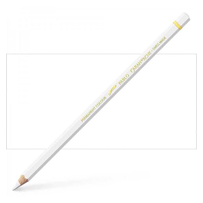 Caran d'Ache Pablo White Pencil