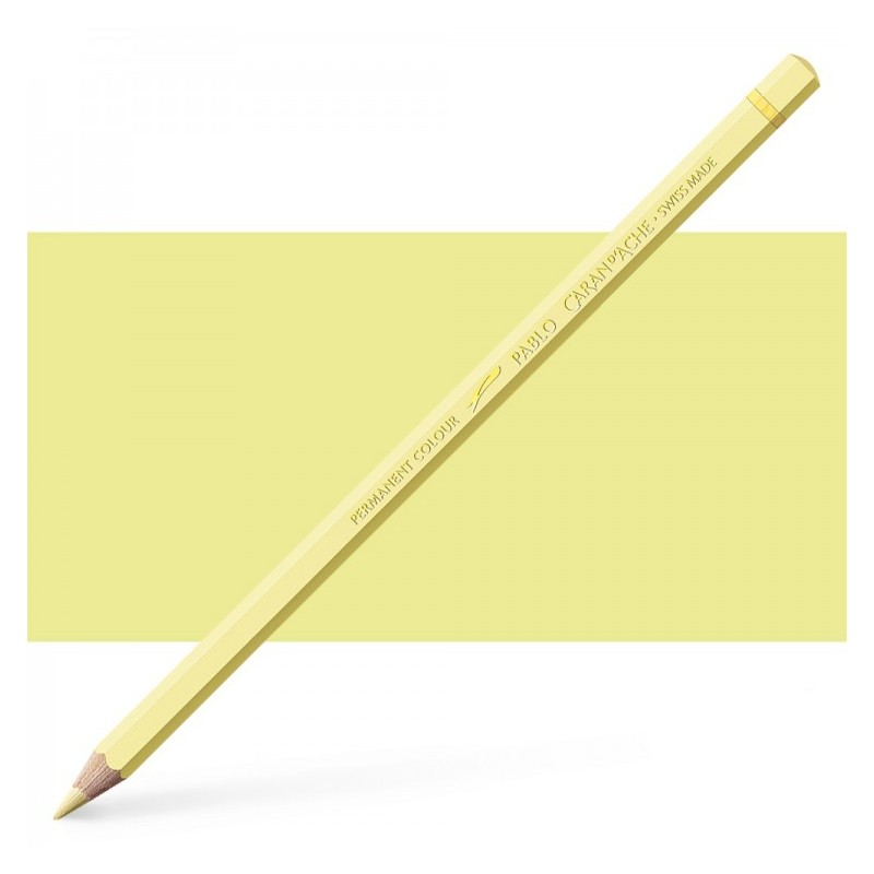 Caran d'Ache Pablo Pale Yellow Pencil